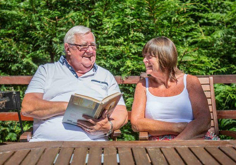 st magarets couple happy holiday sun summer holiday relax break book